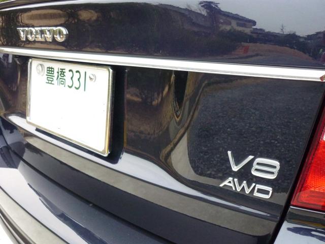 ボルボS80 V8-4.4L フラッグシップ夢の加速!!